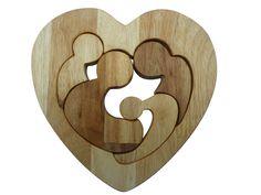 Family love puzzle www.qtoys.com.au