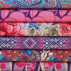 Fat 8th Bundle, 'Hapi' by Amy Butler - patterns & pinks
