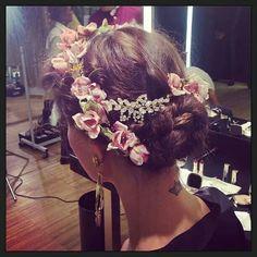 Hair at Dolce & Gabbana