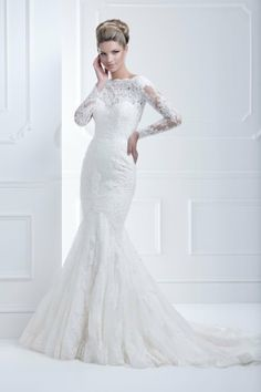 Be Inspired By...Lace  Ellis Bridals style 11368