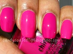 CANDY COATED TIPS: China Glaze Electropop, Lights Collection: Swatches and Comparisons