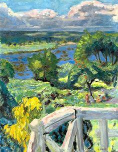 Coup de soleil (La terrasse de 'Ma roulotte' à Vernonnet) / Pierre Bonnard