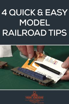 Four Classic Model Railroad Tips Easy Model, Standard Gauge, Hobby Trains, Model Train Layouts, Classic Toys, Model Trains, How To Plan, Ho Scale, Scenery