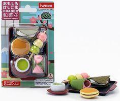 Iwako Japanese Sweets Eraser Set * Read more reviews of the product by visiting the link on the image.