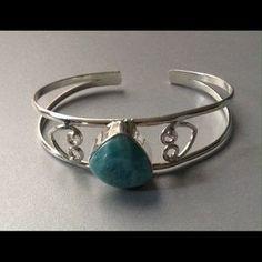 Jewelry - Nice Larimar cuff bracelet