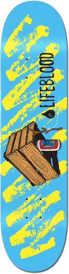Lifeblood Box Trap 8.5 Skateboard Deck - Skate Shop > Decks > Skateboard Decks