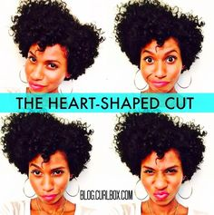 The heart-shaped cut is the one cut that usually works for every curl type. Not familiar? Take a look. http://blog.curlbox.com/2015/05/14/th