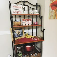 80 best bakers rack decor images in 2019 kitchen ideas kitchen rh pinterest co uk