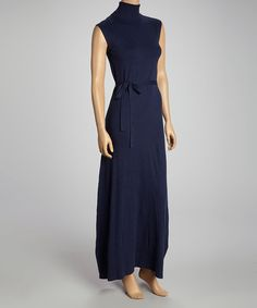 Take a look at this kersh True Navy Turtleneck Dress on zulily today!