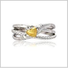 Crossover Claddagh Ring   http://www.theirishjewelrycompany.com/cross-over-claddagh-ring.html