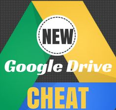 Use This Cheat Sheet to Navigate Google's New Drive