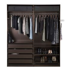 PAX Wardrobe IKEA 10-year Limited Warranty. Read about the terms in the Limited Warranty brochure. $969