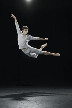 William Fitzgerald in Neil Ieremia's 'Passchendale' from the Royal New Zealand Ballet's 'Salute' mixed bill - photo Ross Brown