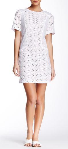 Trina Turk White Eyelet Dress