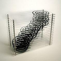 Dendro Dynamics #1 3D Monoprint Sculpture