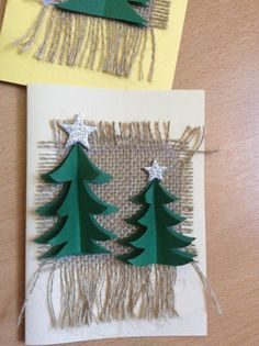 Αποτέλεσμα εικόνας για χειροποιητεσ χριστουγεννιατικεσ καρτεσ Christmas Crafts, Xmas, Christmas Ornaments, Christmas Stockings, Diy And Crafts, Holiday Decor, Advent, Blog, Angels