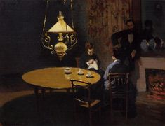 The Dinner, 1868-1869 - Claude Monet - WikiArt.org