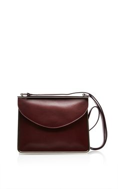Bordeaux St Sulpice Bandouliere by Carven for Preorder on Moda Operandi