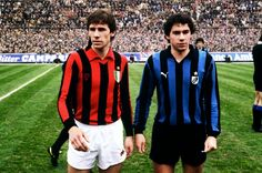 Legends - A tale of rivalry between two brothers - Franco Baresi (AC Milan)  vs Giuseppe Baresi (Inter Milan)