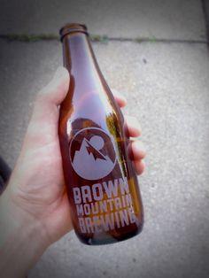 Brown Mountain Brewing - Bottle Design by Collin Corcoran, via Behance