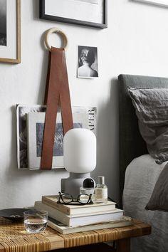 Vulcanusgatan atlasområdet 20kvadrat Josefin Hååg leather lamp perfume glasses bed linnen Fantastic Frank