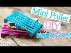 DIY - Mini Caixote de feira - YouTube