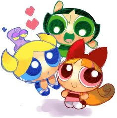 Whatever happened to the Power Puff Girls??? :)