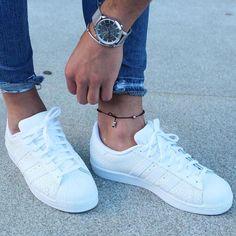 @brunomartins71 white @adidas #superstar and #anklet [ http://ift.tt/1f8LY65 ]