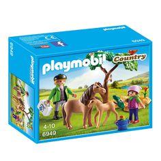 PLAYMOBIL Country dierenarts met pony's 6949