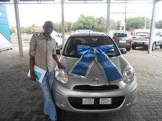 Congratulations to Mr Motlou with the purchase of his 2013 Nissan Micra 1.2 Vista in November 2014. Thank you to Stephan Vermeulen who made this possible. Welcome Mr Motlou to the McCarthy Family.