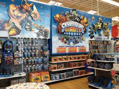 Giants At Toys R Us