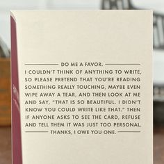 What to write in a birthday card when you have no idea what to say...