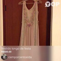 Vendendo Vestido longo de festa  por R$500.00  Consegue-O Agora: https://yop.land/p/145983?utm_source=yop_ios&utm_medium=share