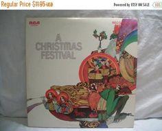 Record Album A Christmas Festival RCA Record Club Vinyl LP