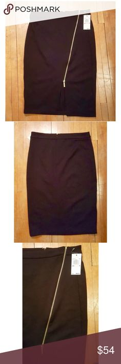 Michael Kors Zipper Seam Pencil Skirt MICHAEL Michael Kors Straight Pencil Skirt, NWT   Dry Clean Only  70% Polyester, 25% Viscose, 5% Spandex  100% Authentic  Retail Price $99  Size: 6 MICHAEL Michael Kors Skirts Pencil