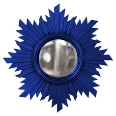 DIY use some cobalt spray paint & a mirror from Home Goods?