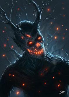 theblacknurse:    Tree-Demon by Disse86