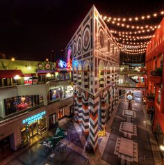 Horton Plaza (i have been here, but its wonderful during Christmas time)