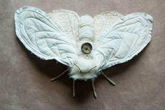 Large white moth von mysouldesign auf Etsy