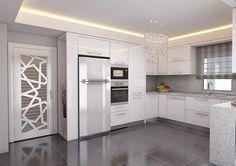 Avangard Desenli Mutfak Mobilyası   Modern Mutfak Modelleri