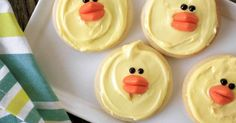 Chick cookies recipe for Easter - Everyday Dishes & DIY