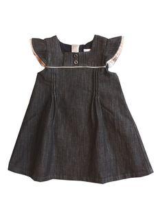 d33d9ac93901 Burberry Kids baby girls dark wash denim dress