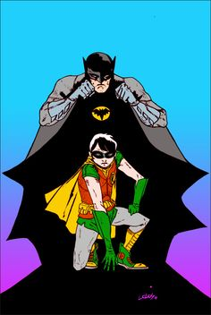 Batman and Robin by Vasilis Lolos (via Robot 6)