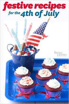 Celebrate the 4th with these tasty recipes: http://www.bhg.com/holidays/july-4th/festive-4th-of-july-recipes/?socsrc=bhgpin053113julyfourthrecipes