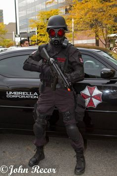 Resident evil, cosplay, cosplay for charity, Umbrella Corp Denver, denver zombie crawl