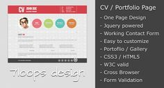 Download the best html5 resume cv templates free templates download the best html5 resume cv templates free templates pinterest cv template resume cv and template yelopaper Gallery