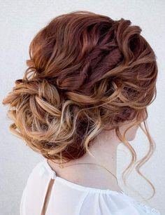 Mezuniyet Saç Modelleri Graduation Hairstyles Hair may lead to concern or hate for a person. Which characteristics of hair develop Thin Hair Updo, Thick Curly Hair, Messy Updo, Curls Hair, Braided Hair, Updos For Curly Hair, Wavy Hair, Easy Curly Updo, Curly Bun