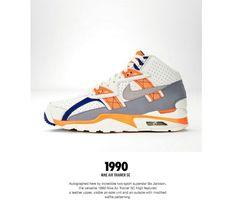 The Genealogy of Nike Training - Page 5 of 6 - SneakerNews.com Darrelle Revis, Michael Vick, Tinker Hatfield, Bo Jackson, Nike Lunar, Excercise, Genealogy, Trainers, Footwear