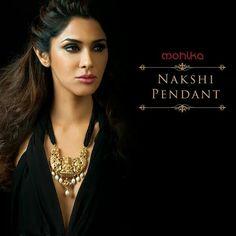 Nakshi pendant necklace