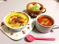 一から手作り♡ - 2件のもぐもぐ - カボチャグラタンとミネストローネ by sakipi912